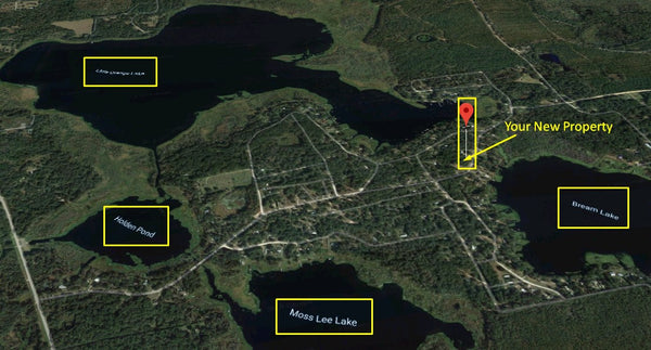 Premium .82 Acre Lot On Paved Road Great Place To Live- Near Lakes
