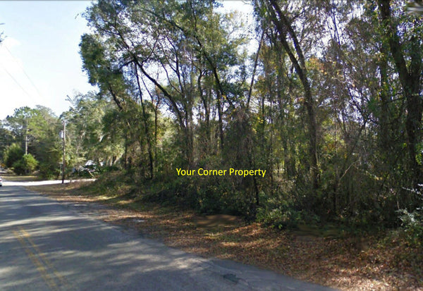 Great Investment! .23 Acre Corner Side by Side Lot at Citra