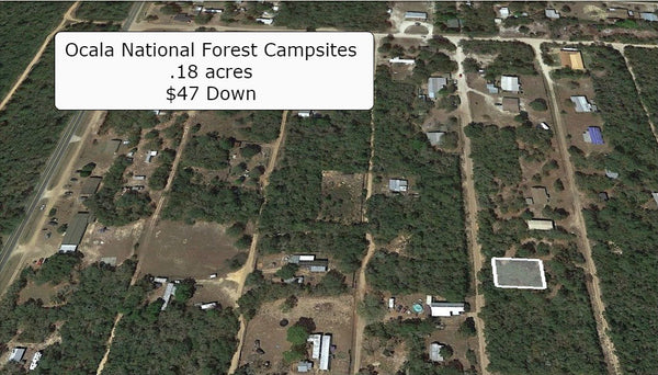 .18 acre lot with Owner financing- Great place to relax and get away!