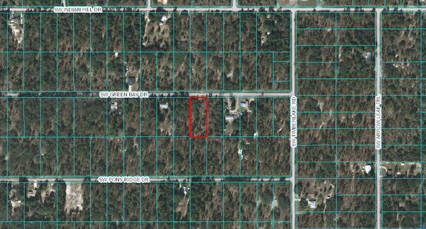 Oversized .99 Acre Lot on Paved Road-Minutes to Bonable Lake-Owner Finance