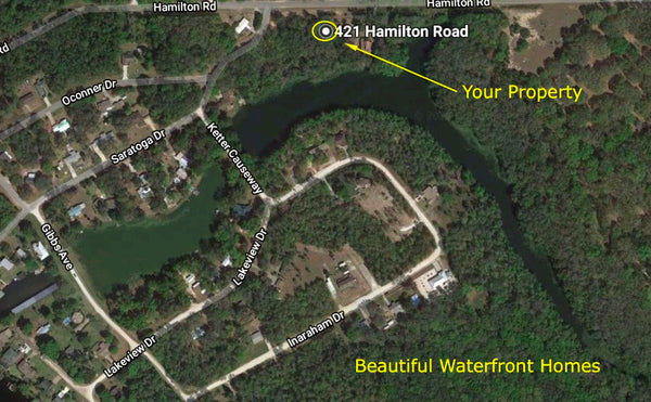Oversized .44 Acre Waterfront Lot Near St Johns River