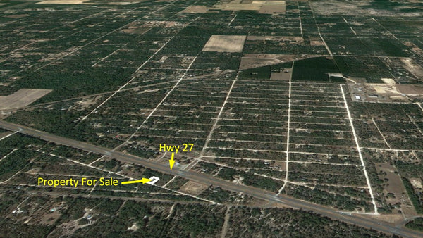 .23 Acre Mobile Friendly Lot with Owner Financing-125 feet from HWY27