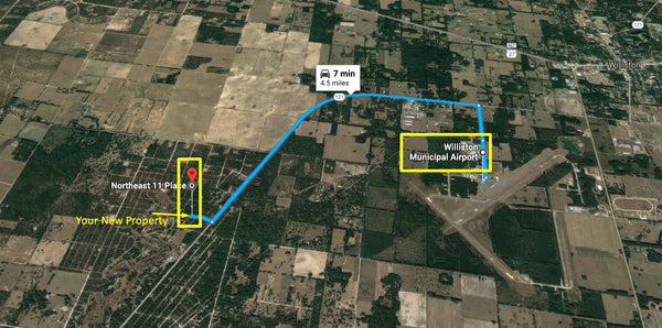 Rare .23 Acre Lot in Nice Area - Minutes to Williston Airport