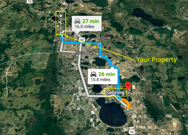 Premium .18 Acre Lot Walking Distance to Lake Olivia- Owner Finance