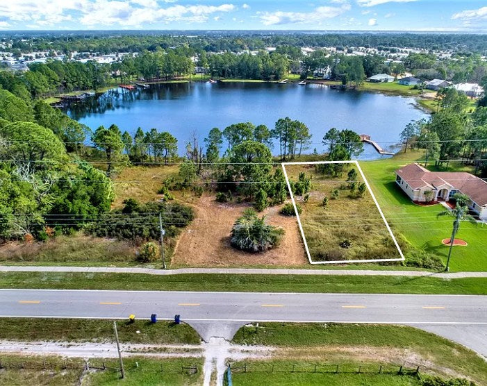 .28 Acre Waterfront Lot On the shore of Lake Rachel in Sebring-Owner Finance