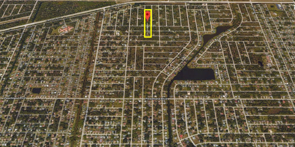 Majestic .23 Acre Cleared Lot on Paved Road in Port Charlotte