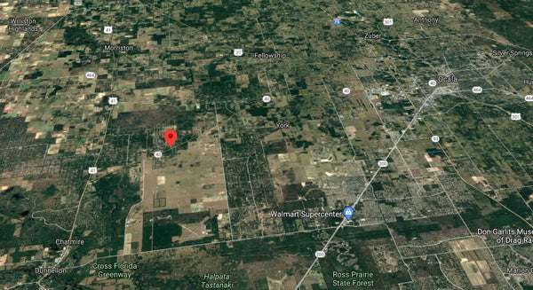 Oversized 1.04 Acre Property on HWY 40 between Dunnellon and Ocala