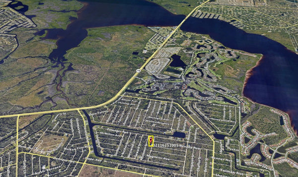 Majestic .23 Acre Lot on Paved Road Near Myakka River In Port Charlotte