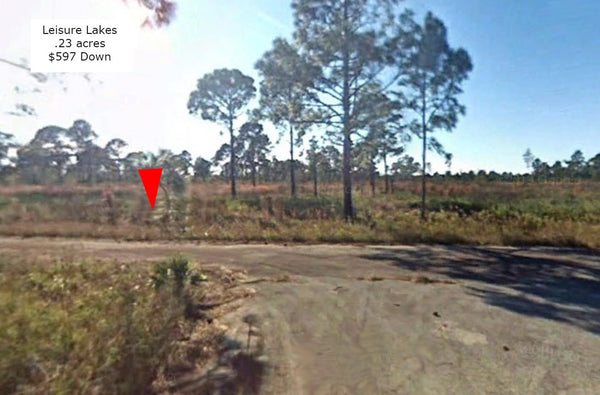 Amazing .23 Acre Residential Lot near Many Lakes