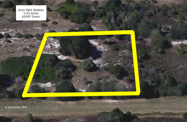 Premium 1.03 Acre Partially Cleared Lot Near Avon Park Airport