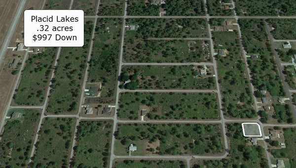 .32 Acre Amazing Corner Lot Near Many Different Amenities - Owner Finance