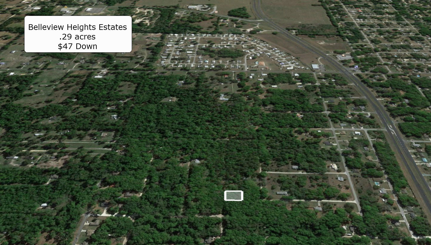 Calling All Investors! .29 Acre Lot in Belleview Heights Estates