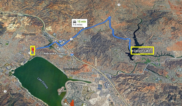 Exclusive .11 Acre Cleared Lot Walking Distance to Lake Elsinore- Owner Finance