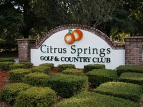 .23 acre Lot on a Paved Road Close to Citrus Springs Golf and Country Club