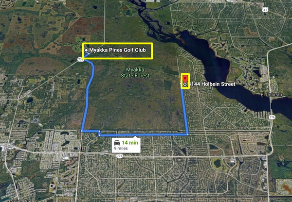Invest or Build! .23 Acre Exclusive Lot on Paved Road Near Myakka River