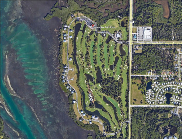Majestic .31 Acre Corner Lot on Paved Road in Port Charlotte