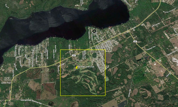Premium 1.26 Acre Waterfront Lot on Paved Road-Backyard on Lake