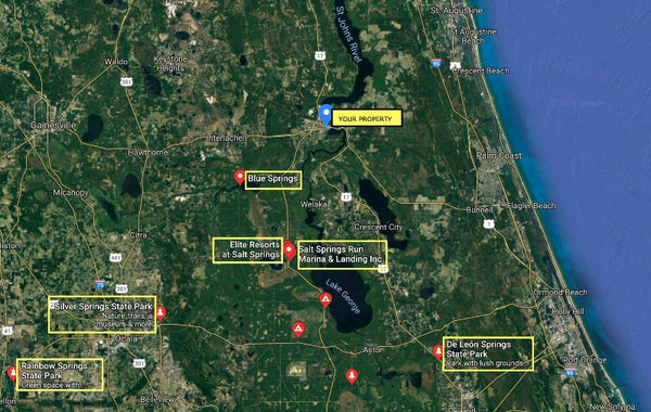 Exclusive .38 Acre Lot Minutes to St Johns River-Owner Financed