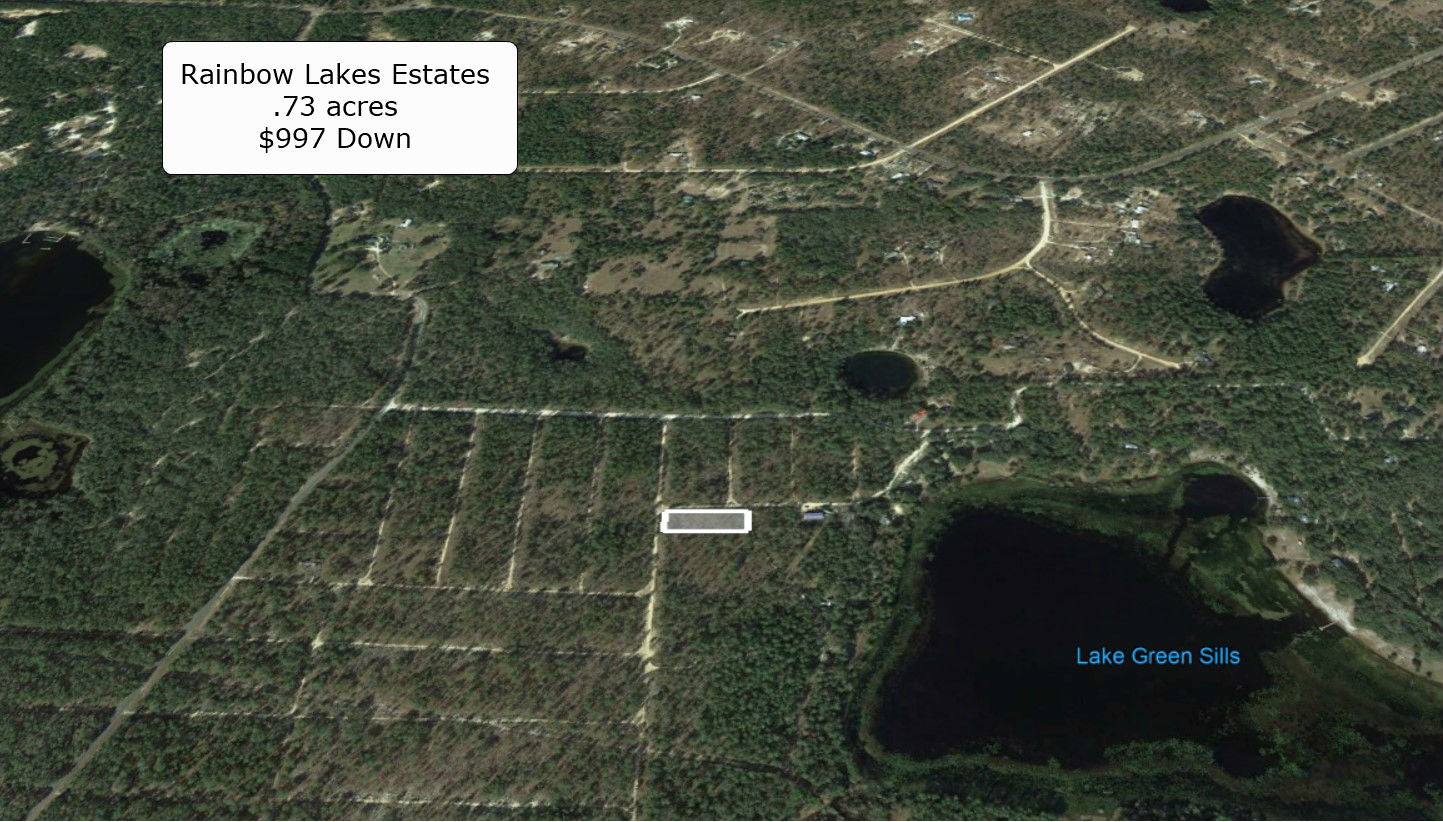 Premium .73 Acre Corner Lot- A Great Place to Live- Surround by Many Lakes