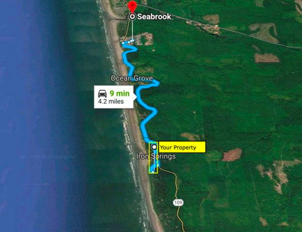 Gateway to the Pacific - .11 Acre Lot in Copalis Beach with Views of the North Pacific