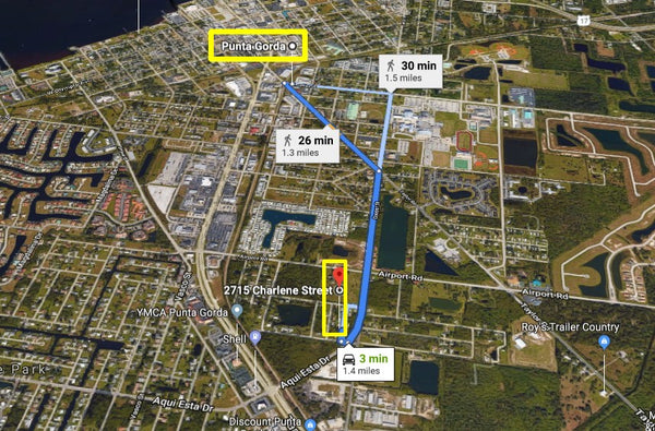 .18 Acre Lot on Paved Road in Punta Gorda-Walking Dist to Peace River