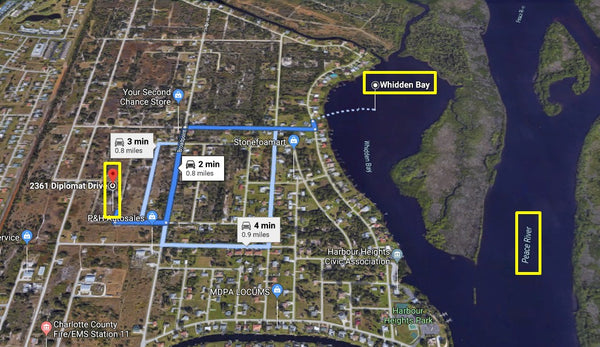 Own or Invest! .26 Acre Lot in Punta Gorda-Walking Distance to Peace River