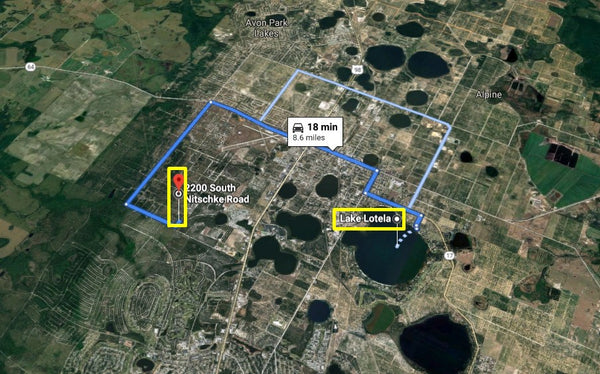 Pristine 1.03 Acre Corner Lot Near Avon Park Airport-Owner Finance