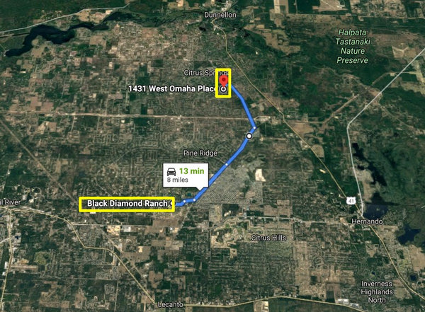 .23 acre lot on Paved Road-Planned - Minutes to US-41 Citrus Springs