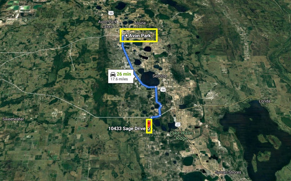 Exclusive .23 Acre Residential Lot Close to Lake Josephine in Sebring
