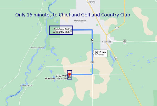 .18 Acre Minutes to Chiefland Downtown