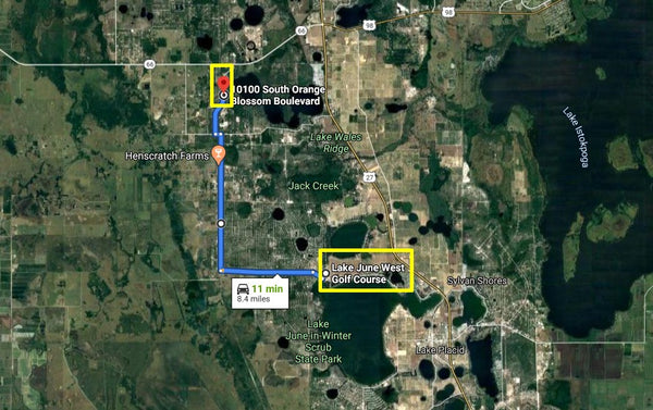 Majestic .23 Acre Residential Lot Close to Lake Josephine in Sebring