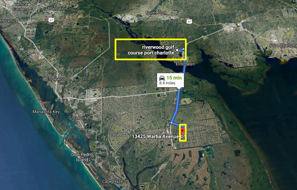 Excusive .23 Acre Residential Lot on Paved Road Near Myakka River