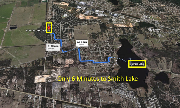 .23 Acre Lot on Paved Road near Smith Lake at Silver Spring Shores