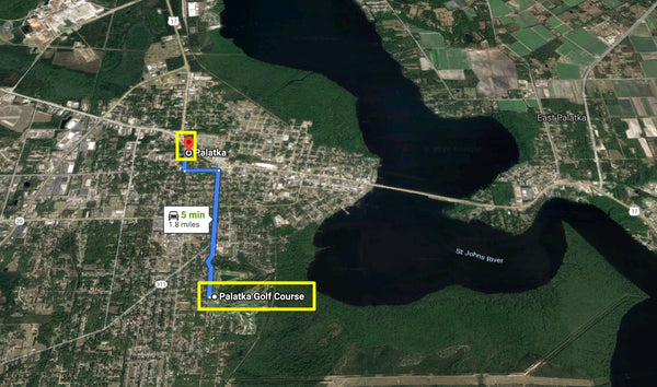 .53 Acre Corner Lot on Paved Road & HWY 100 - Min to St J River