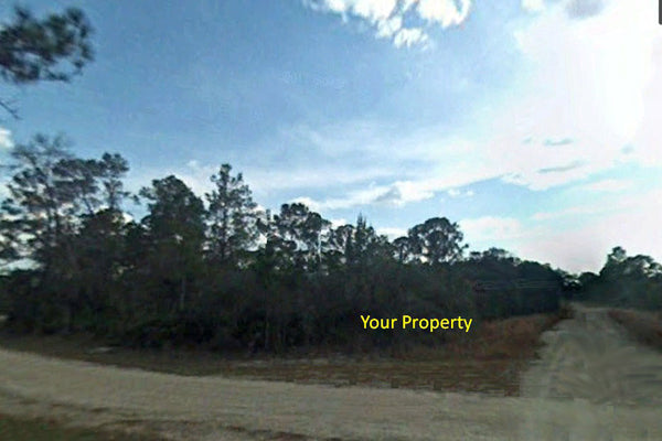 .21 Acre Corner Lot in Lake Placid R1 Zoned Close to Lake June in Winter