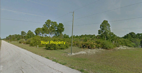 .22 Acre Canal front lot with access to Gasparillo Sound-Charlotte Harbor