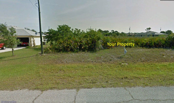 Own This .21 Acre Residential Lot on Paved Road in Rotonda Lakes