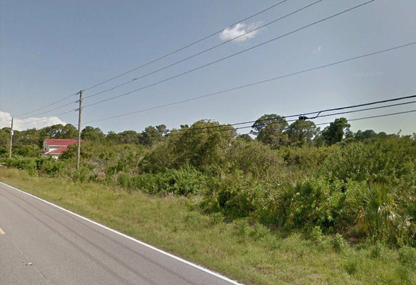 Partially Cleared .23 Acre Lot on Paved Road Walking Distance to River