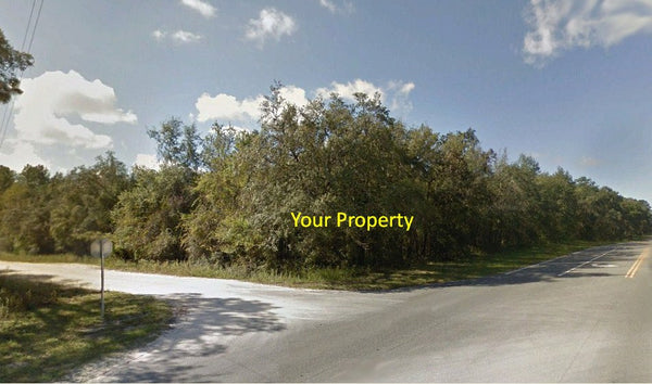 Great Location! 1.04 Acre Corner Buildable Property on HWY 40-Owner Finance