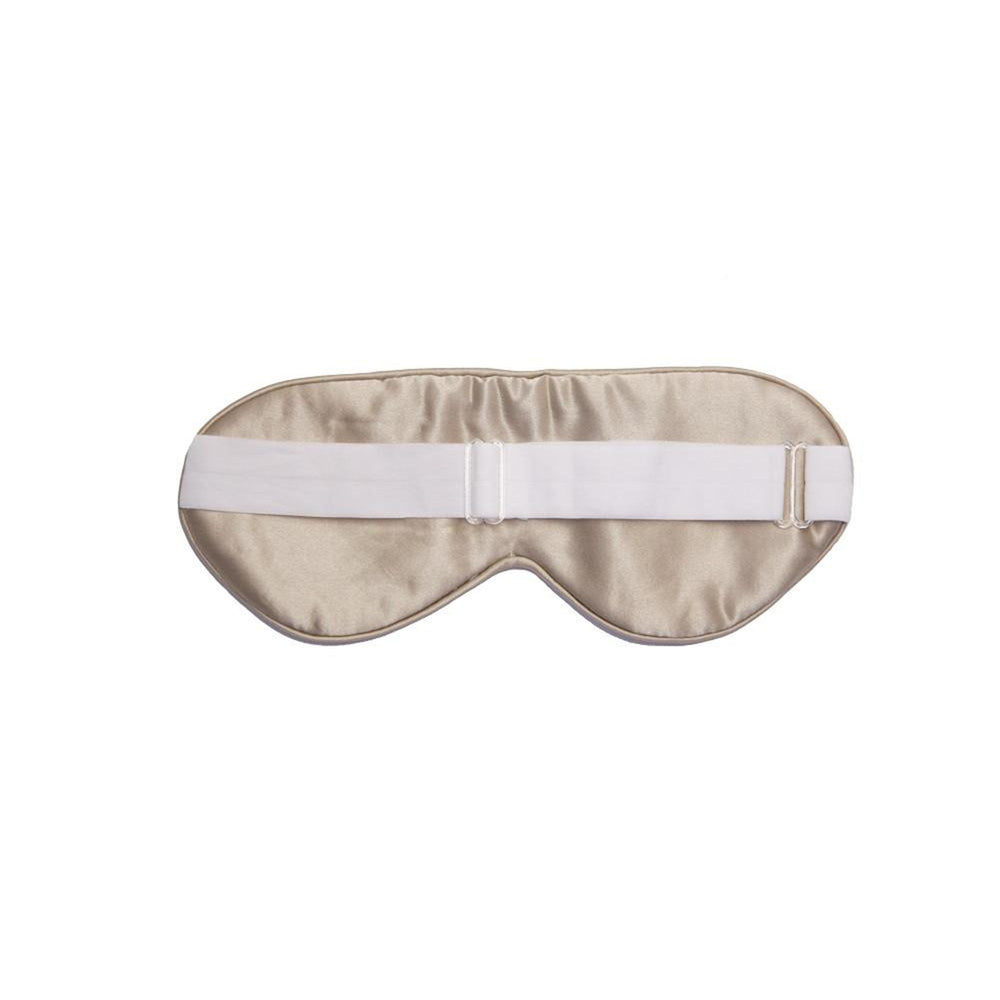 Silk Sleep Mask Shimmering Nude