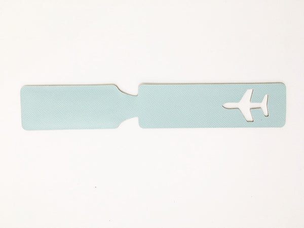 Plane Travel Name Tag Urban Style Accessory For Creative Design Art Lovers