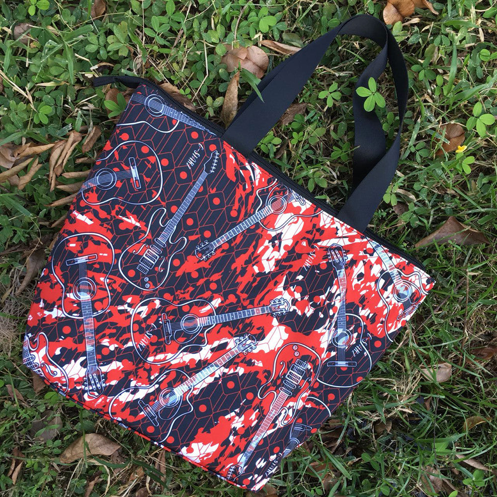 Midnight Tote Urban Style Accessory For Creative Design Art Lovers
