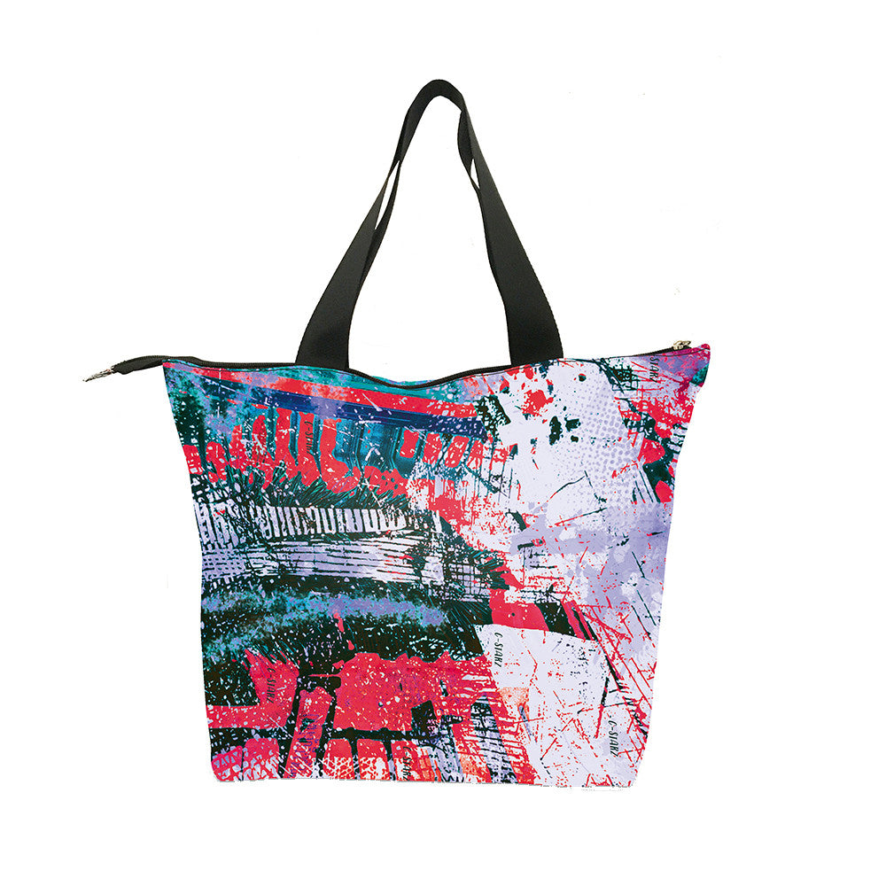 C-Starz Street Art Tote Bag Birthday Gift For Hippies Teens