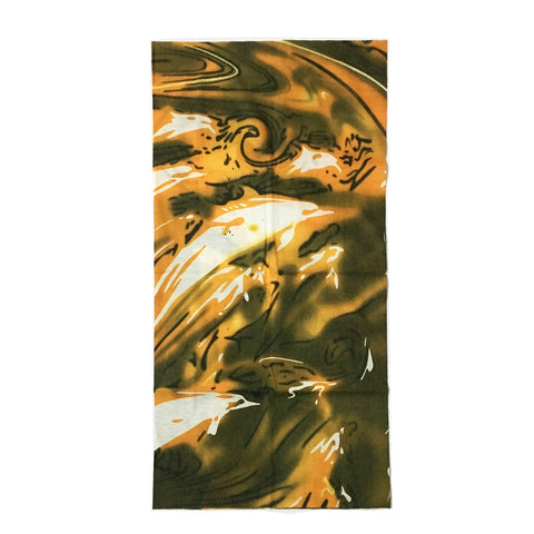 Hot Water Seamless Bandana Urban Style Accessory For Creative Design Art Lovers