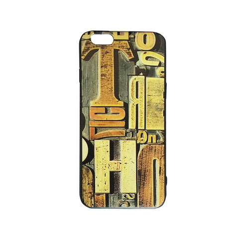 Vintage Look Embroidered Printed iPhone 6/6s Case (Style III)