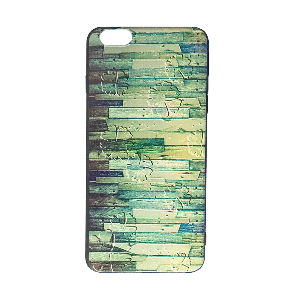 Vintage Look Embroidered Printed iPhone 6/6s Plus Case (Style IV) Urban Style Accessory For Creative Design Art Lovers