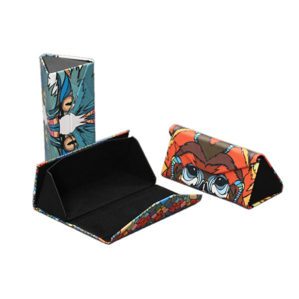 Printed Triangle Sunglasses Box(Polar Bear)