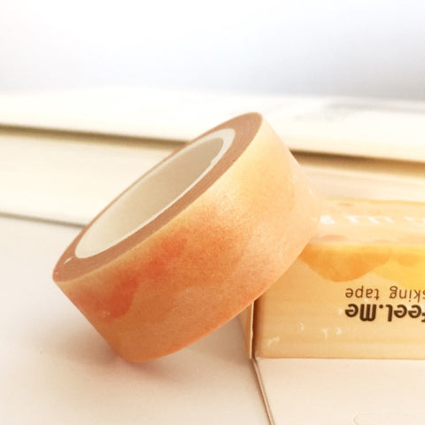 Sunset Traditional Chinese Painting Style Masking Tape
