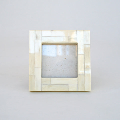 Square Bone Photo Frame (Bone / Cream)