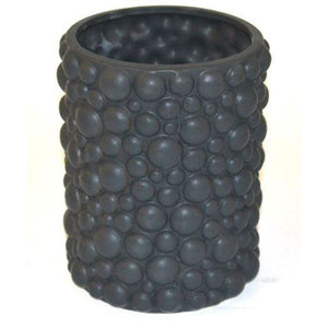 Vase Ceramic Bubble Black